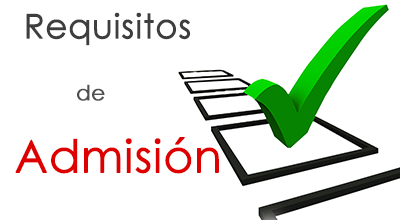 Requisitos de Admisión